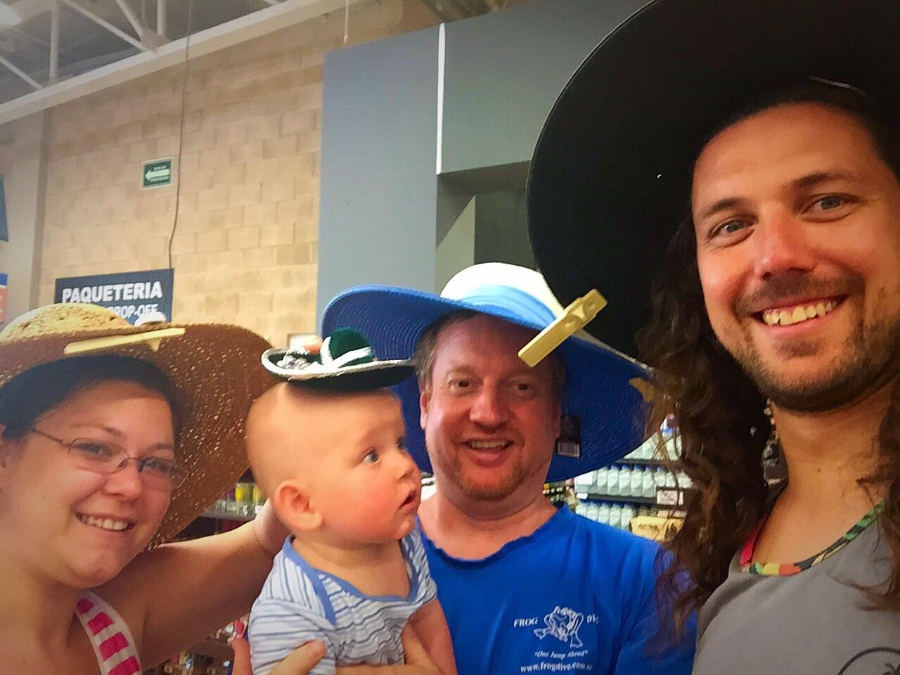 Shopping hats :)